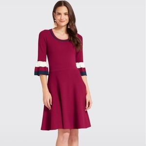 🆕Draper James Burgundy Sweater Dress